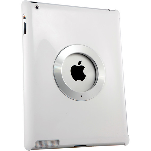 Rolling Ave iCircle-Multi Directional Stand and Grip for the iPad 2, new iPad and iPad 4 with Retina Display (White)