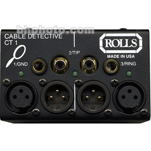 Rolls CT1 Cable Detective Cable Tester