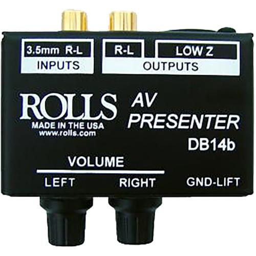 Rolls DB14 Director Stereo Direct Box/Signal Separator