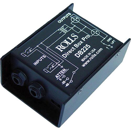 Rolls DB225 Professional Direct Box