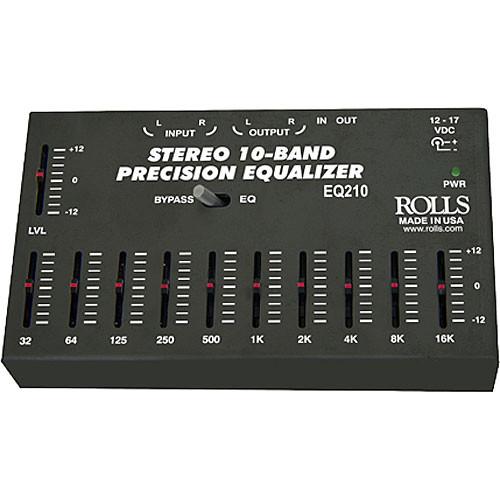 Rolls EQ210 - Graphic EQ