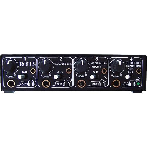 Rolls HA243 4-Channel Studiophile Headphone Amplifier