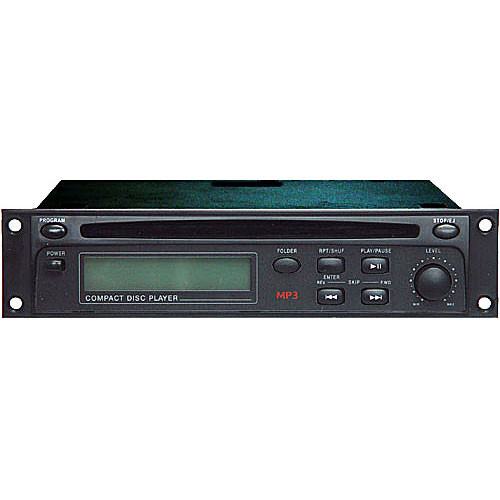 Rolls HR72 - Rack Mountable CD/MP3 Player (1RU High)