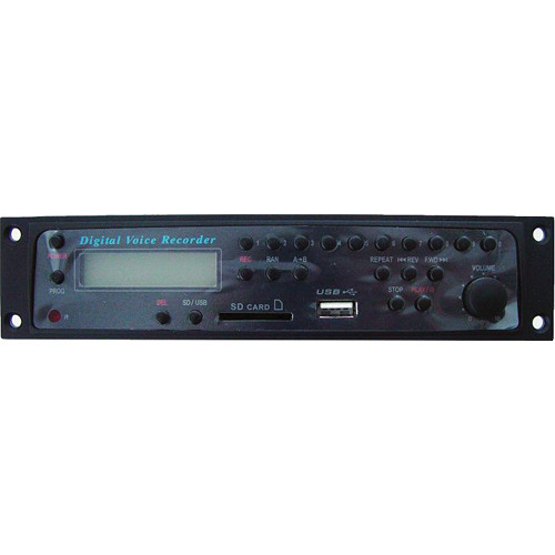 Rolls HR73 - Rack Mount MP3 Recorder/Player