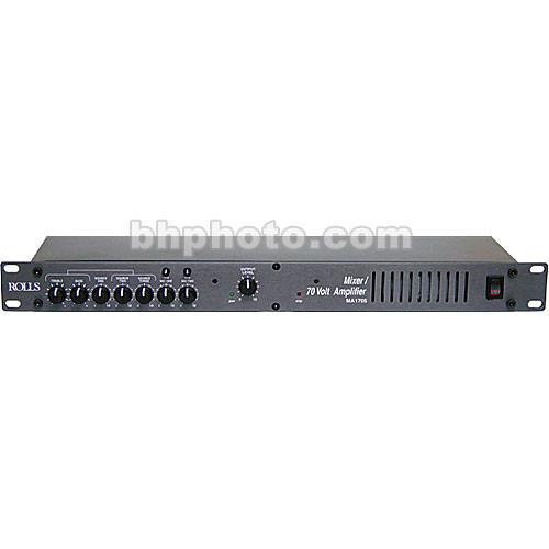 Rolls MA1705 5-Input Mixer/Amplifier