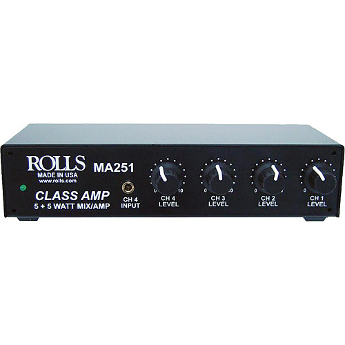 Rolls MA251 Compact Mixer Amplifier