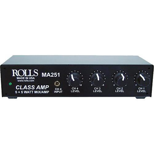 Rolls MA251 Compact Mixer Amplifier