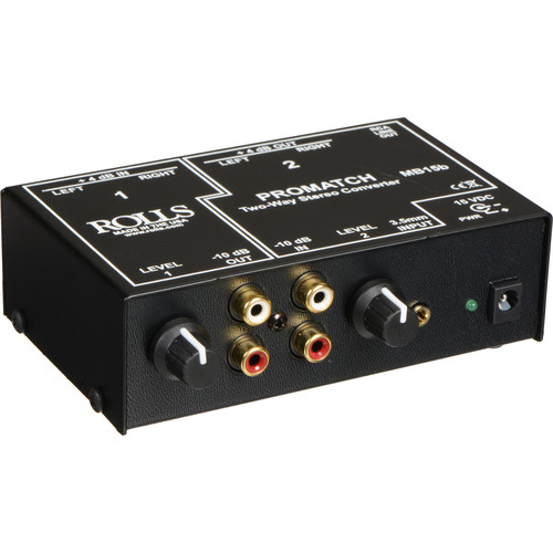 Rolls MB15b Promatch 2-Way Stereo Converter