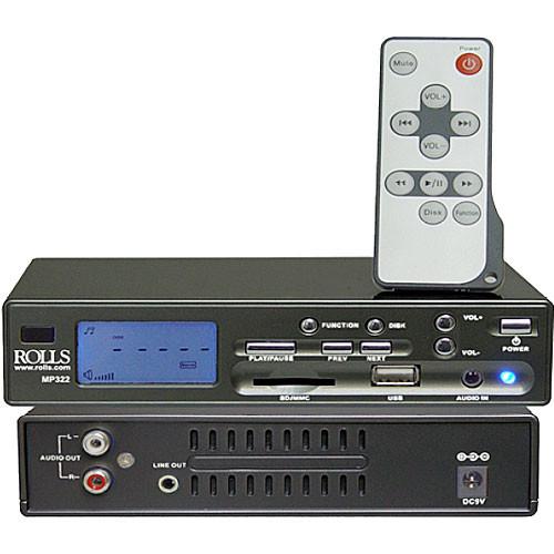 Rolls MP322 MP3 Player Card Reader