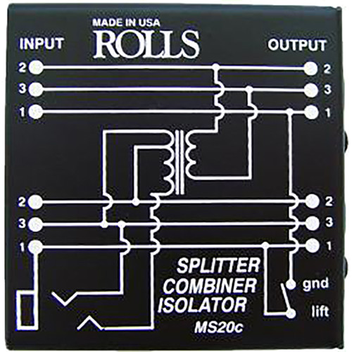 Rolls MS20C Splitter/Combiner/Isolator