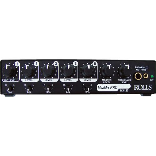 Rolls MX122 MiniMix Pro - Audio Mixer