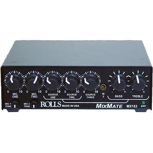Rolls MX153 MixMate Mic/Line Mixer
