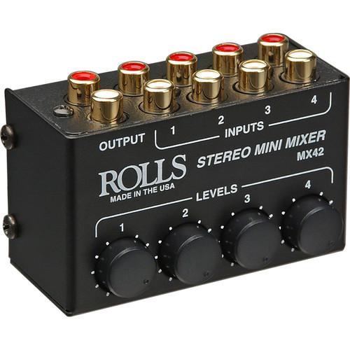 Rolls MX42 Mini Stereo Mixer