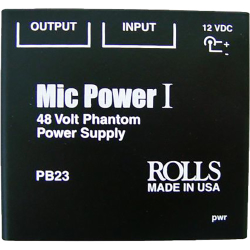 Rolls PB23 - Single Channel Phantom Power Supply