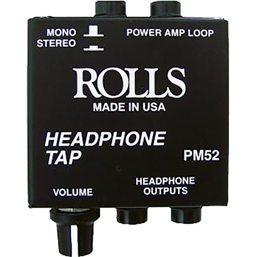 Rolls PM52 - Speaker Level Signal Headphone Tap