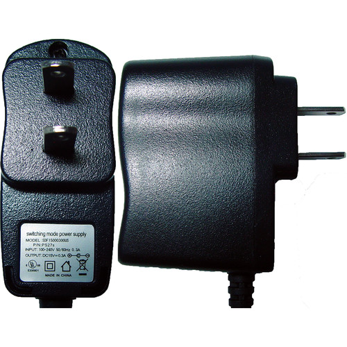 Rolls PS27s 15VDC 100-240VAC Wall Power Adapter