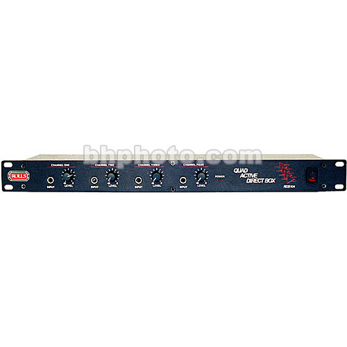 Rolls RDB104 4 Channel Direct Box