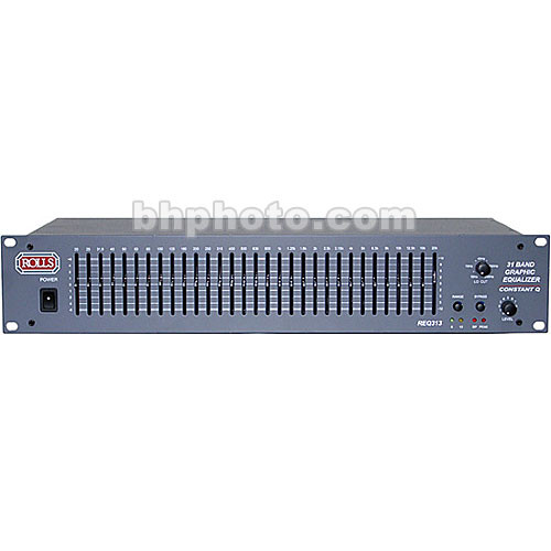 Rolls REQ313 - 31-Band Equalizer