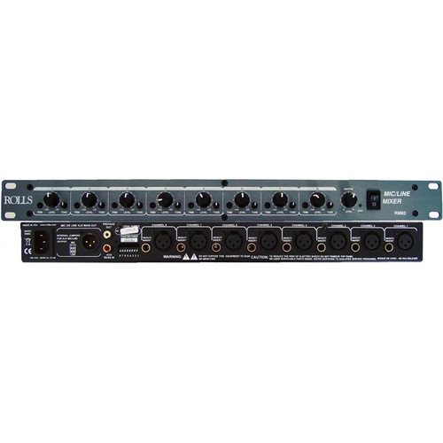 Rolls RM82 8-Channel Mic/Line Mixer