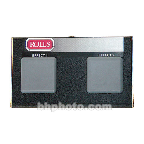 Rolls RP8 - Dual Momentary Contact Footswitch