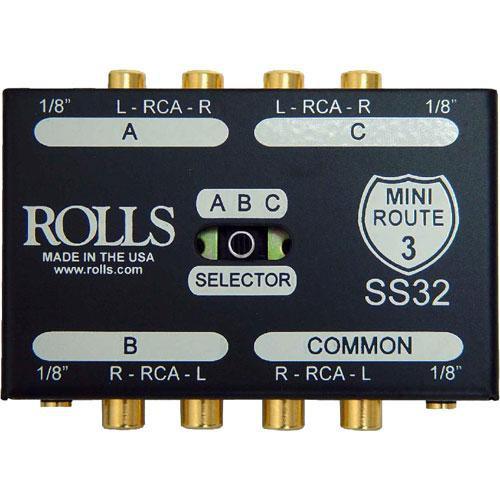 Rolls SS32 Mini Route 3