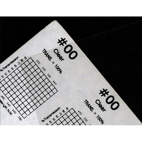 "Rosco Roscolux #00 Filter - Clear - 20x24"" Sheet"