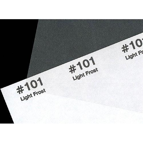 """Rosco Roscolux #101 Filter - Light Frost - 24""""x25' Roll"""