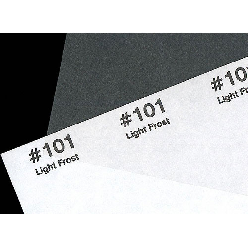 """Rosco #101 Filter - Light Frost - 24""""x25'"""