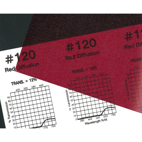 """Rosco Roscolux #120 Filter - Red Diffusion - 24""""x50' Roll"""
