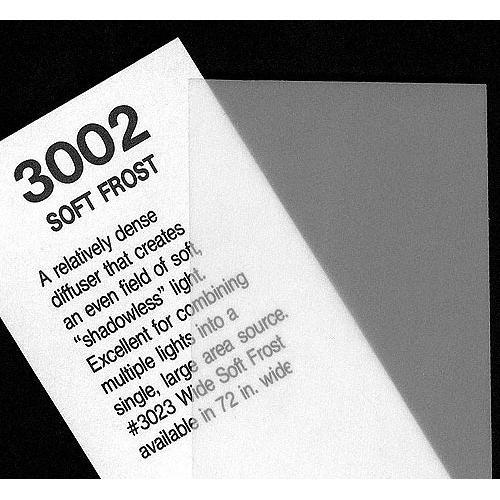 "Rosco Cinegel #3002 Filter - Soft Frost - 20x24"" Sheet"