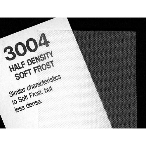 "Rosco #3004 Filter - 1/2 Density Soft Frost - 48""x25"