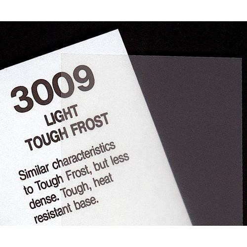 "Rosco #3009 Filter - Light Tough Frost - 48""x25'"