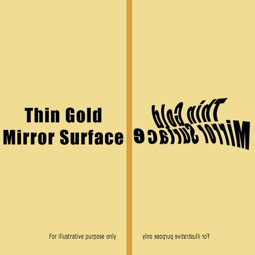 "Rosco Cinegel Reflection Material - Thin Mirror Gold Tinted (G) (20 x 24"" Sheet)"