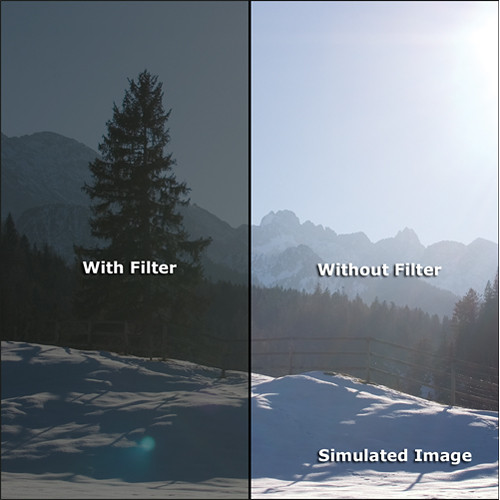 "Rosco VIEW Camera Filter (6.6 x 6.6"")"