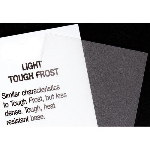 Rosco Fluorescent Lighting Sleeve/Tube Guard (#102 Light Tough Frost, 2' Long)