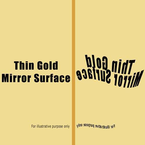 Rosco Fluorescent Lighting Sleeve/Tube Guard (E-Colour #E274 Mirror Gold, 2' Long)