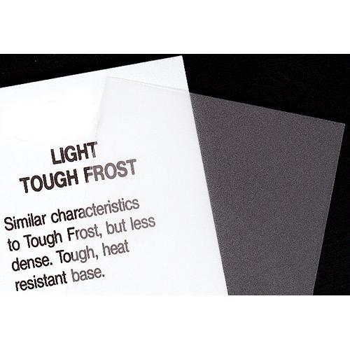 Rosco Fluorescent Lighting Sleeve/Tube Guard ( #102 Light Tough Frost, 2' Long)