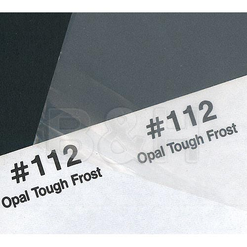 Rosco Fluorescent Lighting Sleeve/Tube Guard (#112 Opal Tough Frost, 2')