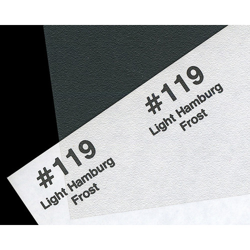 Rosco Fluorescent Lighting Sleeve/Tube Guard (#119 Light Hamburg Frost, 2')