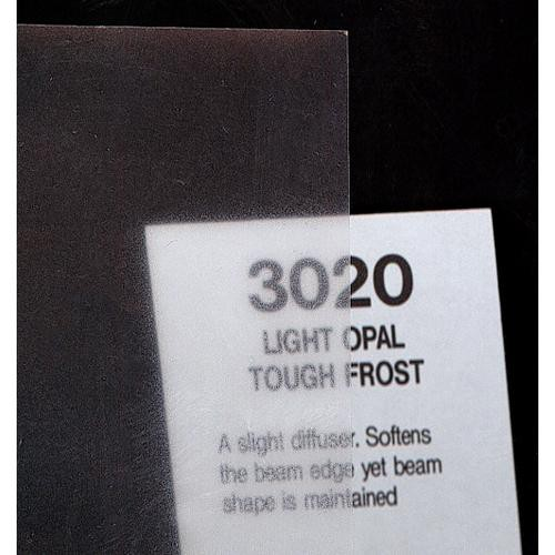 Rosco Fluorescent Lighting Sleeve/Tube Guard (#3020 Light Opal Tough Frost, 2' Long)