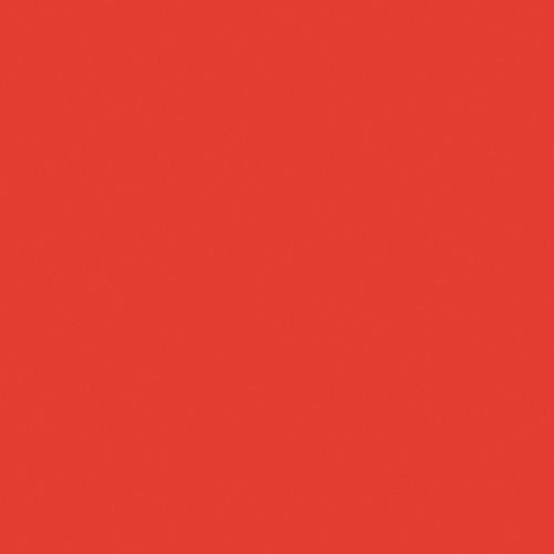 Rosco Fluorescent Lighting Sleeve/Tube Guard (CalColor #4660 Red 2, 2' Long)