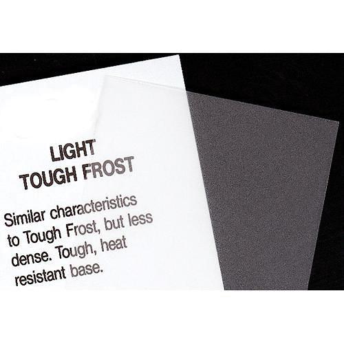 Rosco Fluorescent Lighting Sleeve/Tube Guard ( #102 Light Tough Frost, 3' Long)