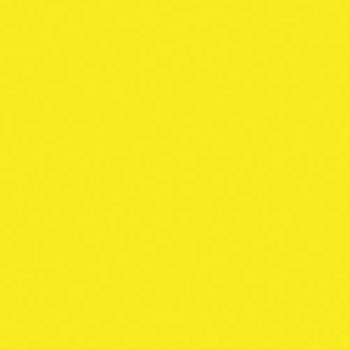 Rosco Fluorescent Lighting Sleeve/Tube Guard ( #10 Medium Yellow, 3' Long)