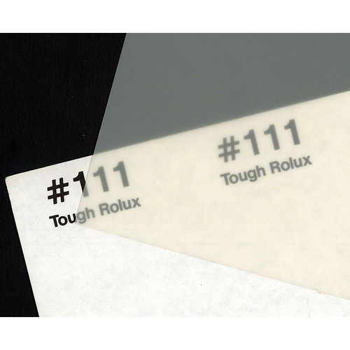 Rosco Fluorescent Lighting Sleeve/Tube Guard ( #111 Tough Rolux, 3' Long)