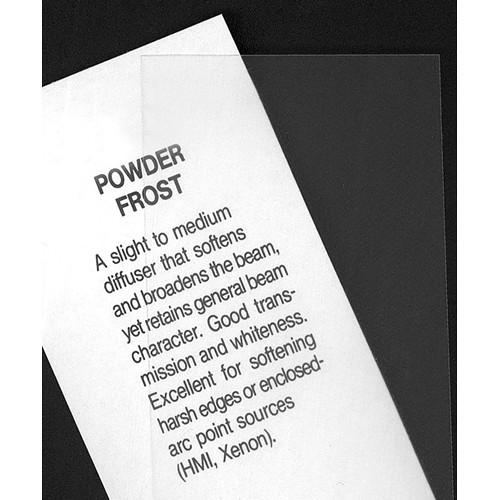 Rosco Fluorescent Lighting Sleeve/Tube Guard ( #163 Powder Frost, 3' Long)