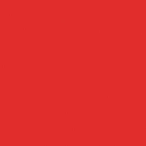 Rosco Fluorescent Lighting Sleeve/Tube Guard ( #24 Scarlet, 3' Long)