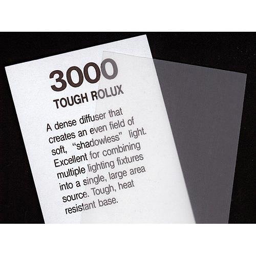Rosco Fluorescent Lighting Sleeve/Tube Guard ( #3000 Tough Rolux, 3' Long)
