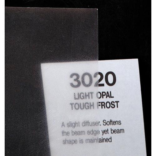 Rosco Fluorescent Lighting Sleeve/Tube Guard ( #3020 Light Opal Tough Frost, 3' Long)