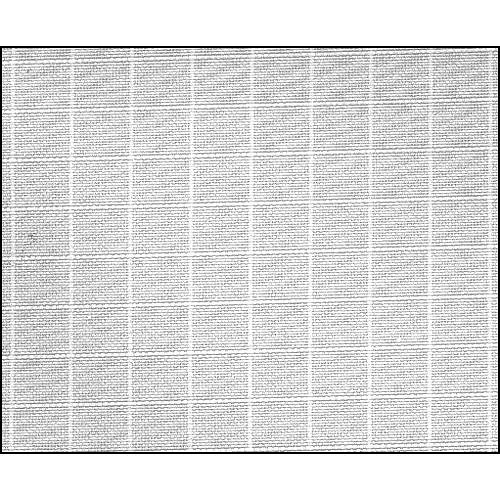 Rosco Fluorescent Lighting Sleeve/Tube Guard ( #3030 Grid Cloth, 3' Long)