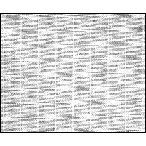 Rosco Fluorescent Lighting Sleeve/Tube Guard ( #3034 1/4 Grid Cloth, 3' Long)